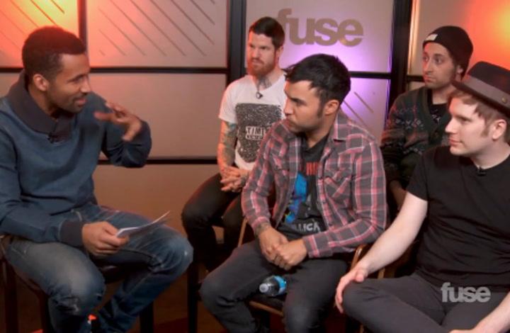 Fall Out Boy Super Bowl XLVIII Interview