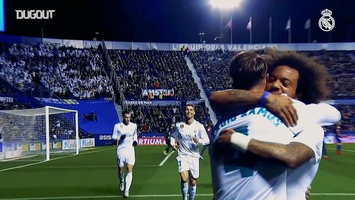 Sergio Ramos Goals Against Levante