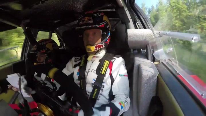 Ogier vuelve al volante del Toyota Yaris WRC tras el confinamiento