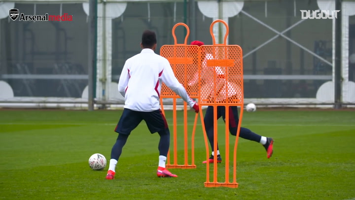 Arsenal put in final preparations ahead of Bournemouth FA Cup clash
