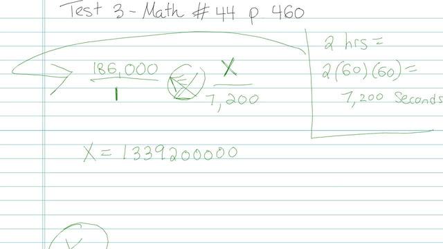 Test 3 - Math - Question 44