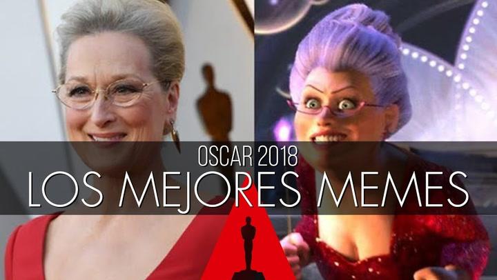 Los memes más divertidos de los Oscar 2018