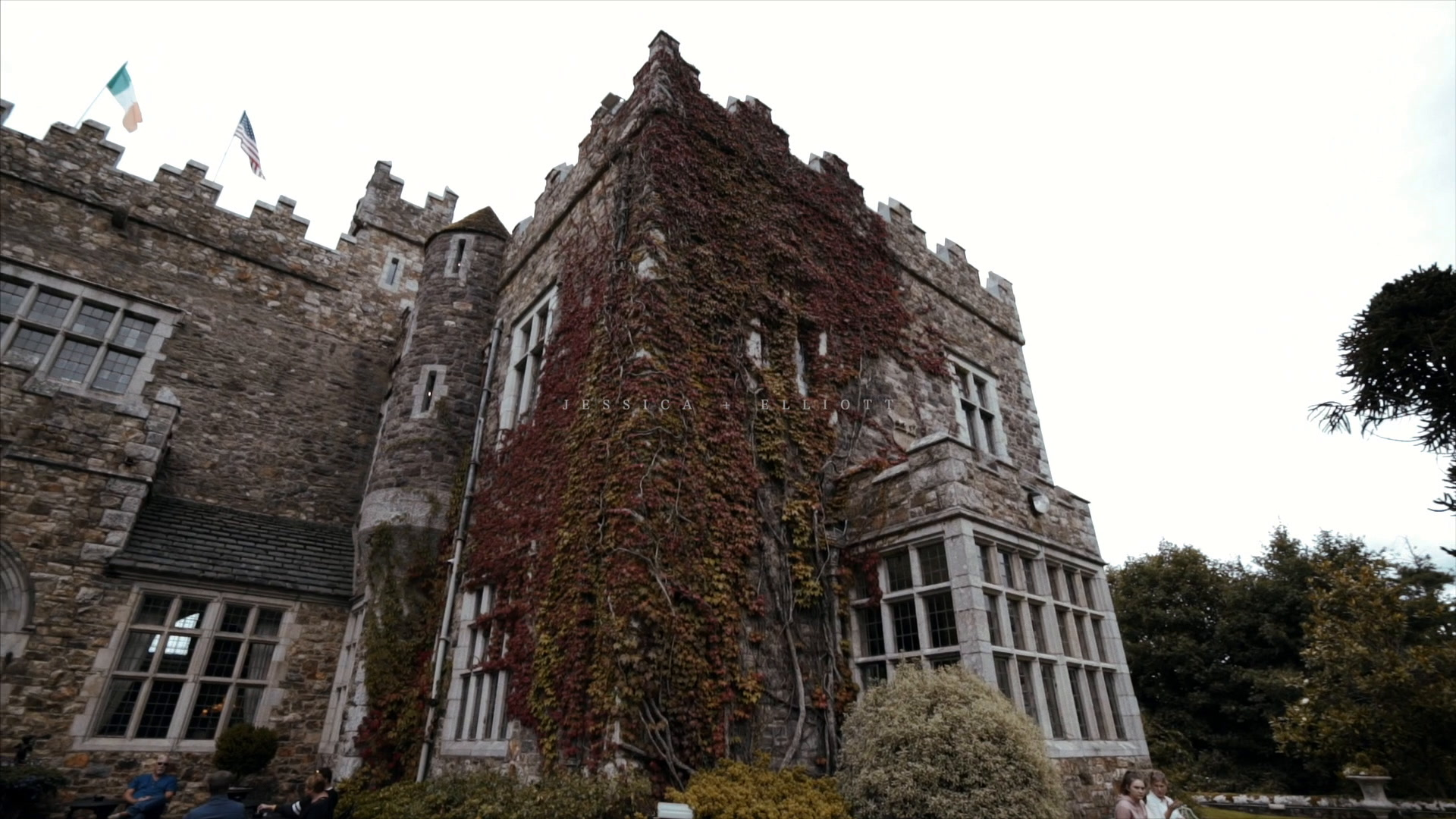 Jessica + Elliott | Waterford, Ireland | WWaterford Castle