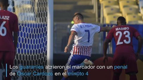 Catar sorprende a Paraguay y le empata 2-2 en debut en Copa América