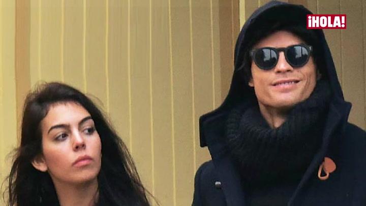 Exclusiva: \'Hat-trick\' de besos entre Cristiano Ronaldo y su nueva novia, Georgina Rodríguez