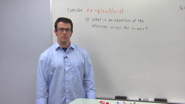 The Reflection y = f(-x) - Problem 2
