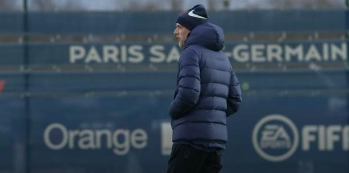 ¿El último entrenamiento de Tuchel con el PSG?