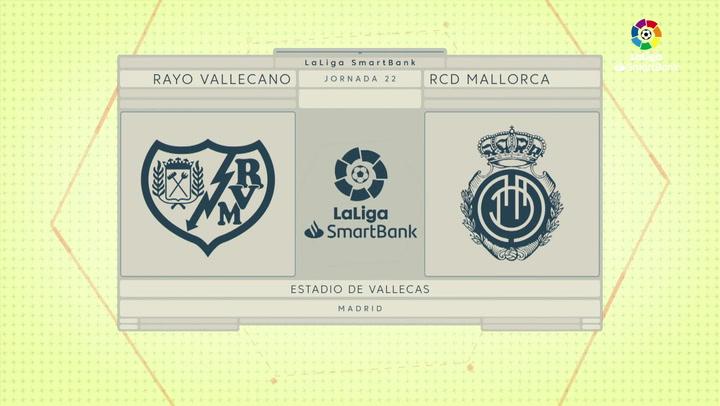LaLiga SmartBank (J22): Rayo Vallecano 1-3 Mallorca