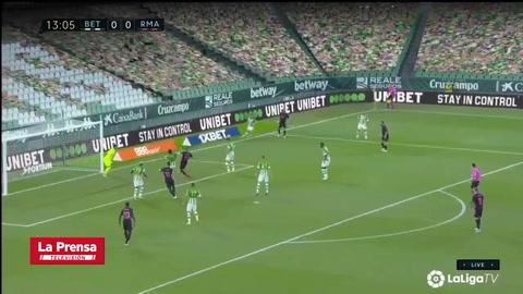 Betis 2 - 3 Real Madrid (Fútbol de España)