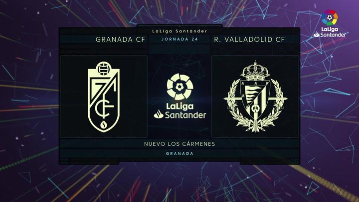 LaLiga (J24): Resumen y goles del Granda 2-1 Valladolid