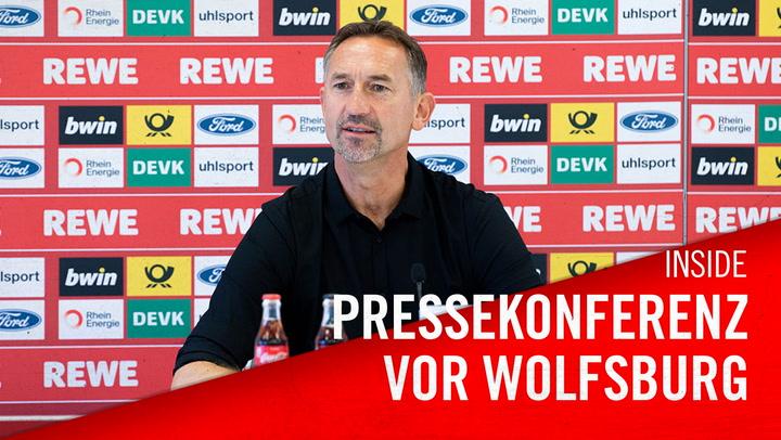 Pressekonferenz vor Wolfsburg