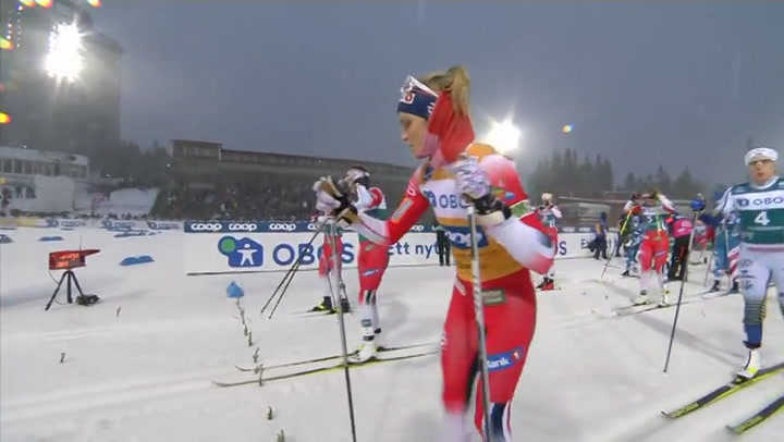 Norway's Johaug powers to another FIS Cross-Country win in...