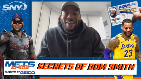 Dom Smith reveals 25 things about himself, including most famous person in his phone