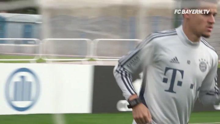 El Bayern ya se entrena en Qatar, con la reaparición de Lucas Hernández