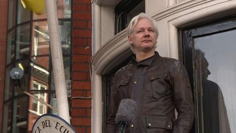 Assange llegó a renunciar al asilo de Ecuador