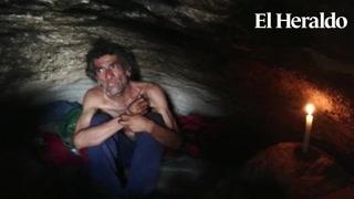 Conoce la historia de un hondureño que vive en una cueva en la capital