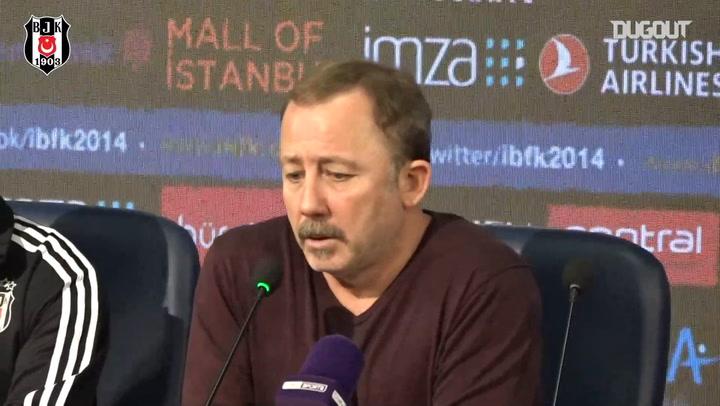 Sergen Yalçın'ın Başakşehir Maçı Sonrası Basın Toplantısı