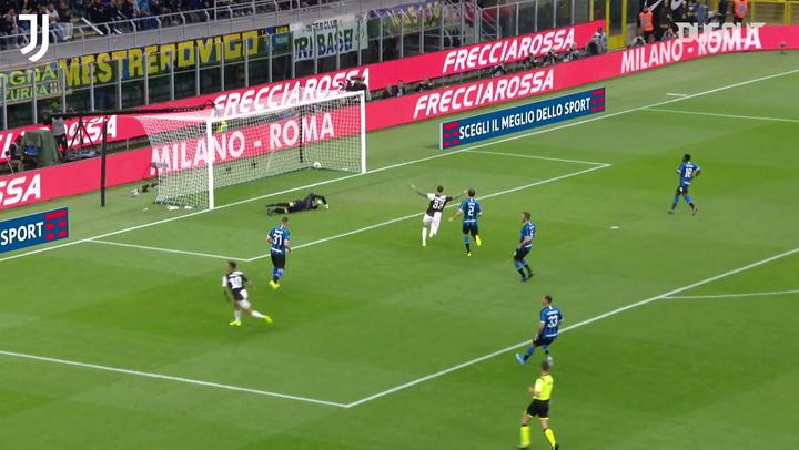 أحدث أهداف يوفنتوس أمام إنتر ميلان على ملعب جوزيبي مياتزا