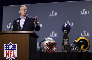 Roger Goodell Addresses Media About Raiders Next Season – VIDEO