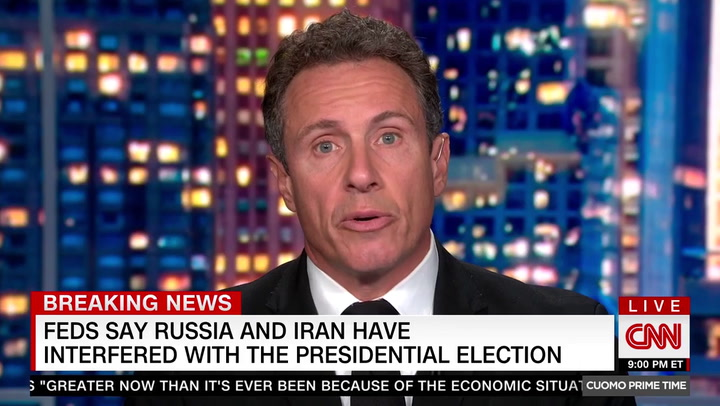 CNN's Cuomo: Trump Gave Iran the Idea to Pose as Proud Boys: 'He Talked This Group Up'