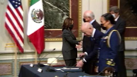 EEUU y México trabajarán en cadenas de suministro y en inversión para frenar migración.mp4