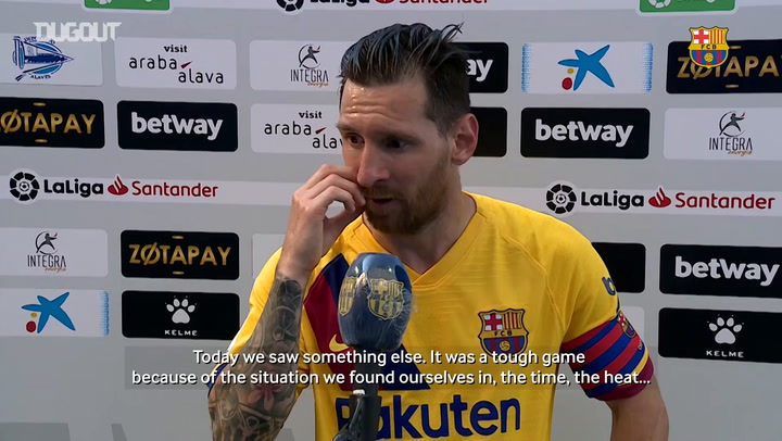 Leo Messi: 'The top scorer award is not an important thing'