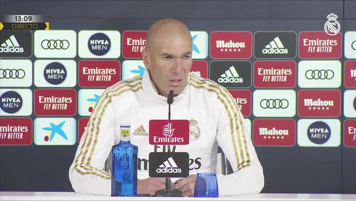 """Zidane: """"En esta Liga todos los partidos son complicados"""""""