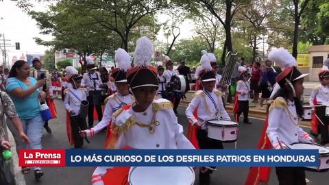 En Claves: El top de lo más curioso de los desfiles patrios en Honduras