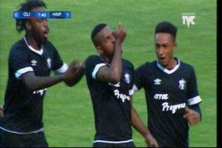 Honduras Progreso está sorprendiendo al Olimpia con gol de Dylan Andrade