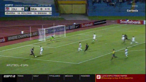 Video: El gol tempranero del Seattle Sounders que sorprendió al Olimpia (Concachampions)