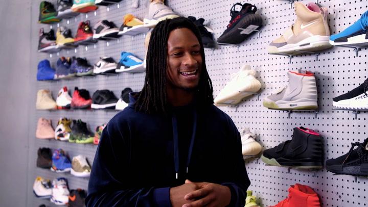 Todd Gurley: Sneaker Shopping