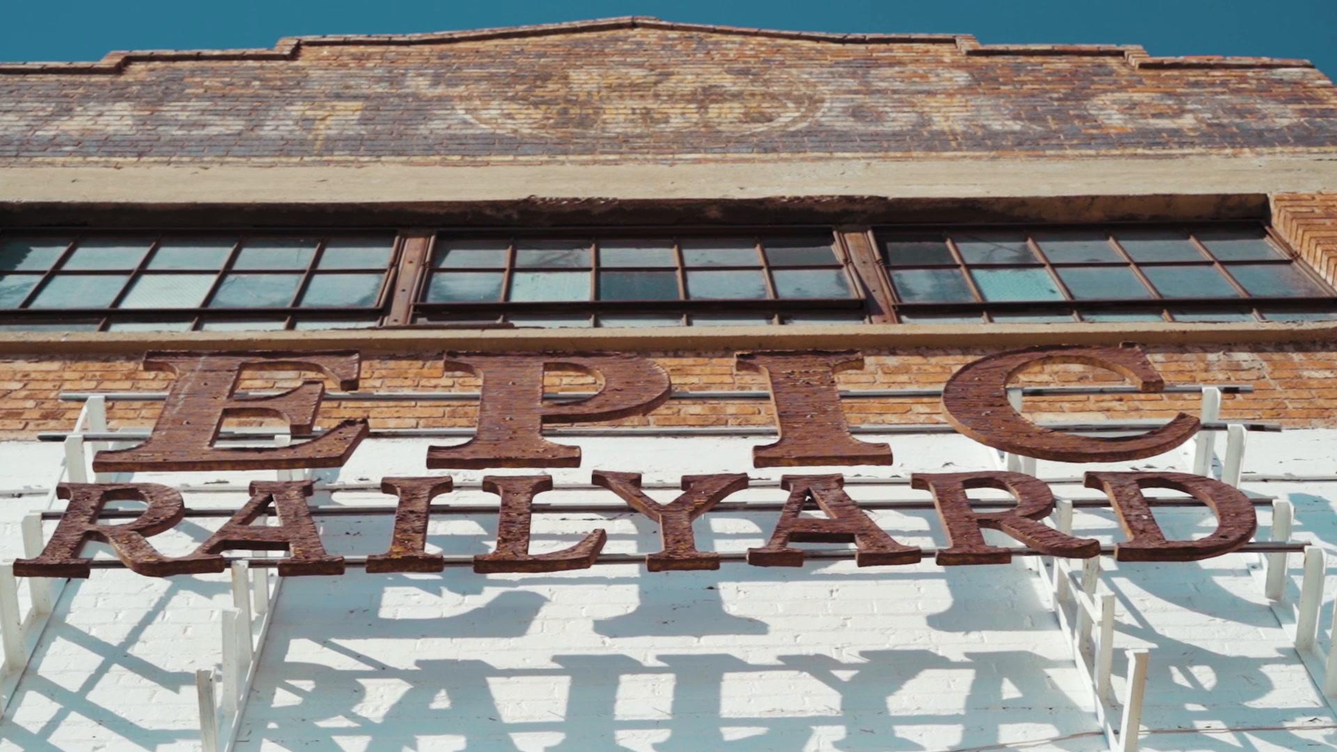 John + Lauren | El Paso, Texas | Epic Railyard