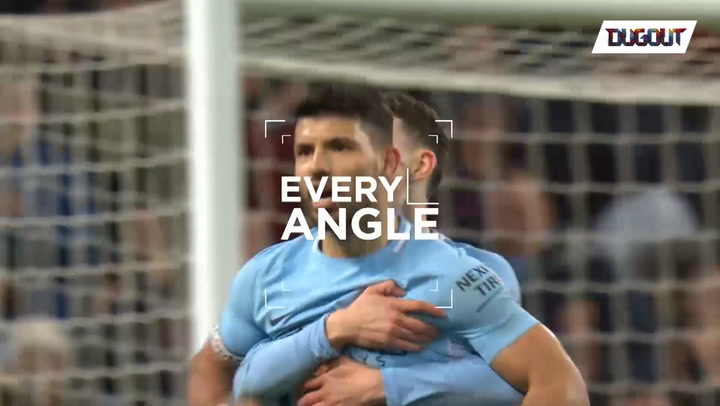 Agüero's stunner vs Leicester from every angle