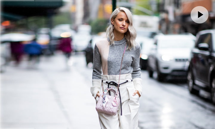 Pantalones blancos: 10 formas de llevarlos en tus looks de otoño