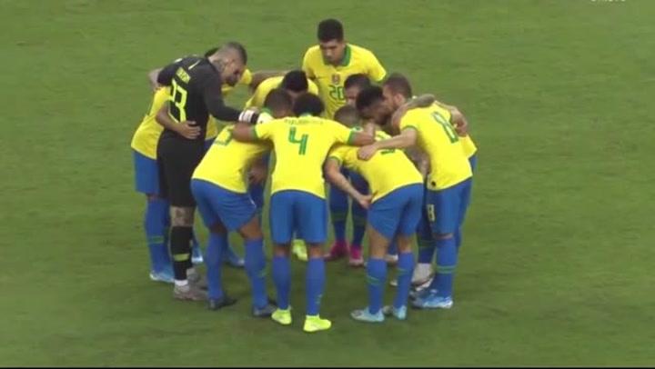 Resumen del Brasil-Nigeria (1-1)