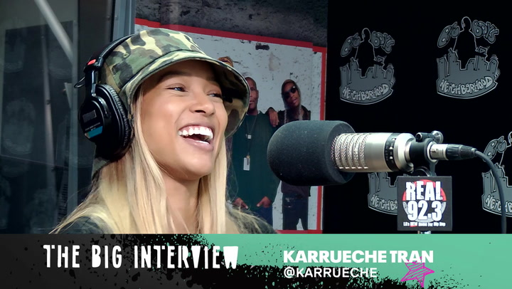 Karrueche Talks Celebrity DM's & Her Dream Acting Role