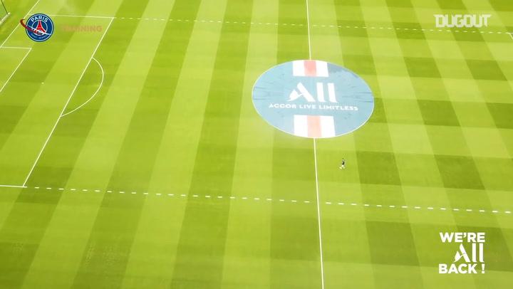 Paris Saint-Germain Hazırlık Maçına Hazırlanıyor
