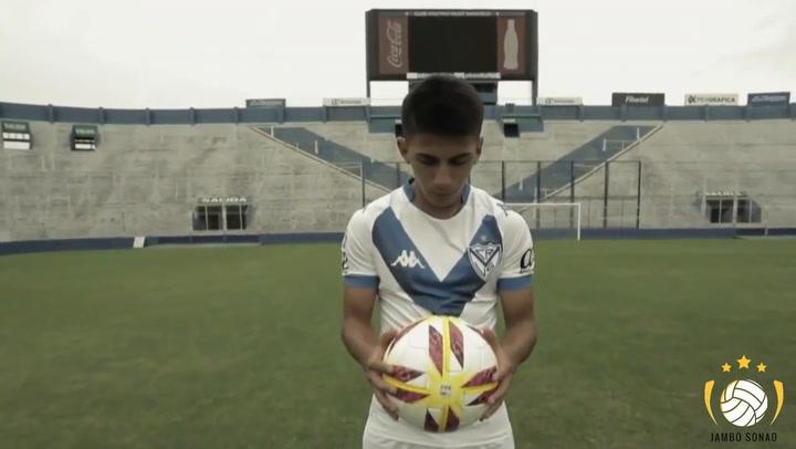 Thiago Almada, el jugador argentino del Vélez Sarsfield que quiere Guardiola