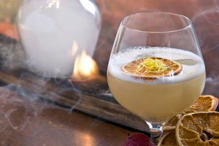 Try the Burning History cocktail at Zuma In Las Vegas