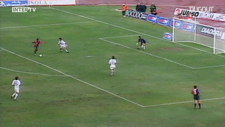 Comebacks: Cagliari 2-2 Inter 1998