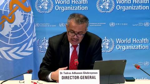 Jefe de la OMS lanza voz de alarma por situación de covid-19 en México y Brasil