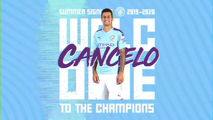 Cancelo nuevo jugador del City