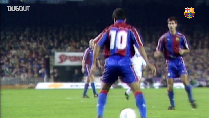 Incredible Goals: Romario Vs Real Madrid