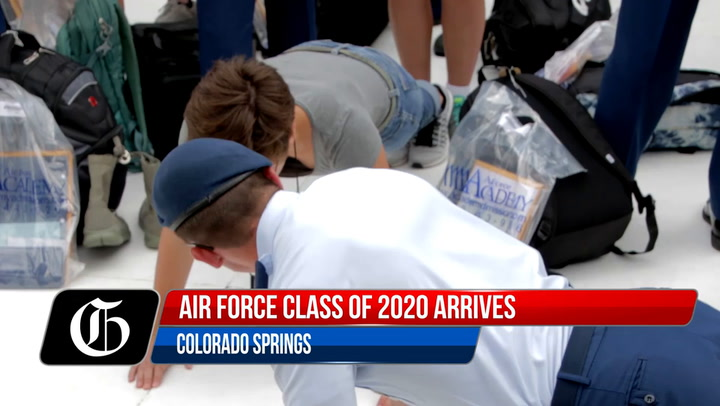 Meet The Air Force Academy Class Of 2020 In Colorado Springs