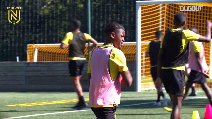 FC Nantes Antrenmanlara Devam Ediyor