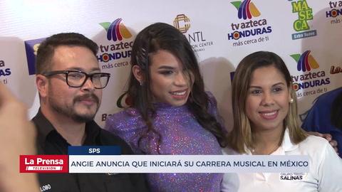 Angie Flores anuncia que iniciará su carrera musical en México