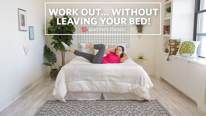 40f9fb4bdeb Bed Workout - 13 Exercises To Do Without Leaving Bed | Apartment Therapy