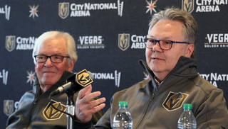 Kelly McCrimmon Gets Promoted to Golden Knight General Manager – Video