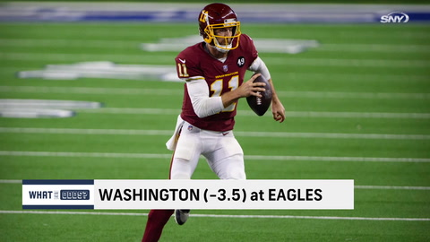 What are the odds on the NFC East teams in Week 17?