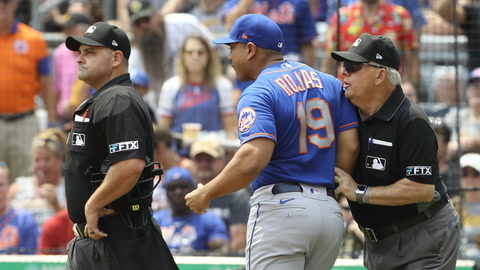 Luis Rojas breaks down his ejection in Pittsburgh